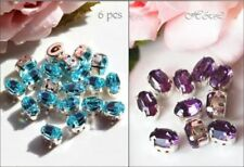 Sew On Oval Jewellery Making Craft Beads