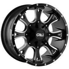 "Cali OffRoad 9103 Anarchy 20x9 5x5.5""/5x150 +18mm Black/Milled Wheel Rim 20 Inch"