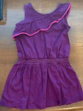 Gymboree Size 6 Young Girl Purple Sleeveless Tank Cotton Dress
