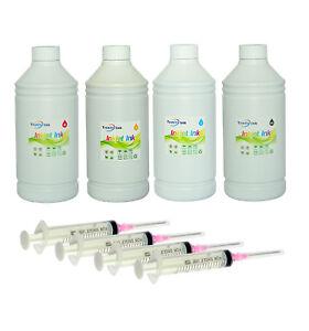 4x1000ml Non-OEM ink refill alternative for Epson ET-2500 ET-2550 ET-4500 4550