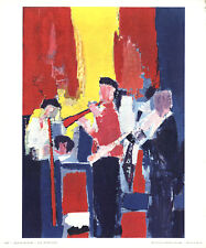 Nicolas De Stael-Jazz Players-1958 Poster