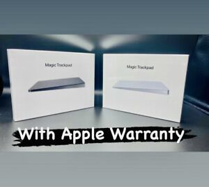 Apple Magic Trackpad 2 (Wireless, Rechargable) - Grey / White(Silver) New Sealed