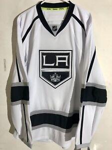 Reebok Authentic NHL Jersey Los Angeles Kings Team White sz 46