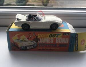 Corgi Toys James Bond Toyota 2000GT '336' With Original Box