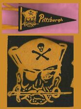 OLD Pittsburgh Pirates Baseball Pennant! 1950's WOW!