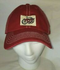 Hard to Find NEW BELGIUM Brewing Fat Tire Bicycle Logo Cap Hat Slide Back strap