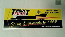 097 Thrust SSC Land Speed World Record 1997  Dunlop Aviation