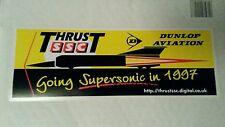 Thrust SSC Land Speed World Record 1997  Dunlop Aviation