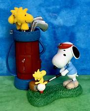 Hallmark Peanuts® Spotlight On Snoopy Golfer & Golfing W/Woodstock Ornament Set