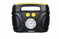 Kensun AC/DC Swift Performance Portable Air Compressor Tire Inflator with Ana...