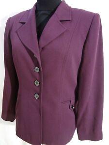 """""""Kasper"""" Petite 8, Purple Women's Blazer Jacket"""