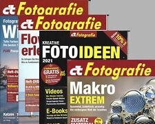 ct Digitale Fotografie 2021, Einzelhefte mit Heft-CDs