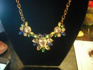 Aretha Franklin Owned and Worn 1990's Costume Necklace from Nightclub Promoter