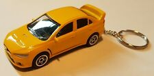 1:64 DIECAST MODEL CARS, mitsubishi lancer evolution KEYRINGS. GREAT GIFTS.