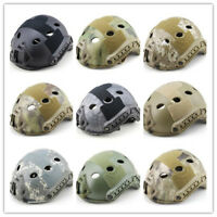 Military Tactical PJ type Fast Helmet with Side Rails for Hunting Bulletproof