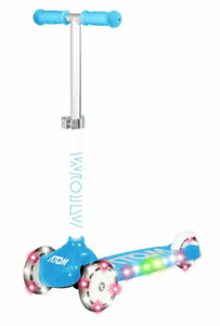 Atom Light Up 3-Wheel Scooter - Blue - Age 3+ RRP £30