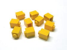 Lego® Technic  9 Steine 1x2 mit Clip  Horizontal Gelb  6021835  95820  30237