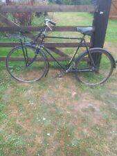 Vintage Ladies Hallfords Appollo Bike With Basket Tray