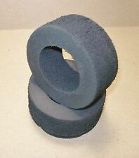 Associated RC 500 Molded Hard Compound Tires<>(NOS Associated Cadillac) 2-pcs