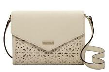 NWT $168 KATE SPADE MONDAY Perforated Leather Envelope Purse Wallet Crossbody