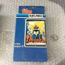 Vintage#MUPI MAZINGA Z n. 6 Mazinga all'attacco - COLOR SUPER 8 CASSETTE