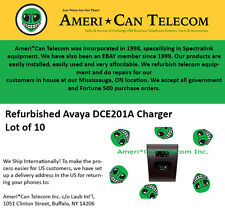 Avaya Refurbished DCE201A Chargers (Lot of 10)