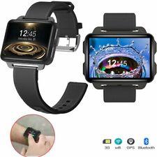 Bluetooth SmartWatch 3G SIM GPS WiFi Phone Mate 2.2 inch Screen for Samsung HTC