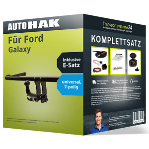 Anhängerkupplung abnehmbar für FORD Galaxy +E-Satz NEU AHK