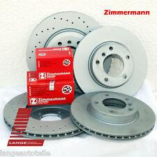 Zimmermann Bremsen Beläge  Audi A4 S4 8E2 8E5 8H7  345x30mm VA 300x22mm HA SPORT