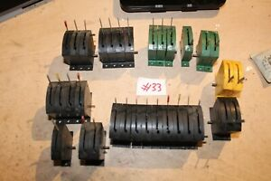 hornby and triang point level switches oo ho lot 33