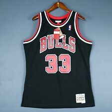 Authentic Scottie Pippen Mitchell Ness Bulls Swingman Jersey L XL 44 48 - jordan