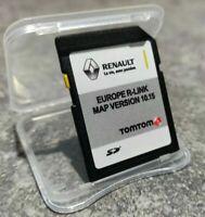 RENAULT R-LINK TomTom SD NAVIGATION KARTE  MAP CARD CLIO CAPTUR TWINGO ZOE KANGO