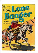 """LONE RANGER #27  [1950 VG-]  """"BUCKING HORSES"""""""