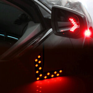 2pcs Car Side Rear View Mirror 14SMD LED Lamp Turn Signal Light Accessories