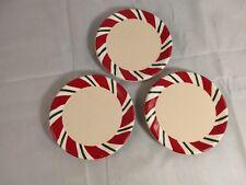 Set of 3 Longaberger Snowflake Coasters