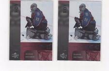 2001-02 UPPER DECK ICE PATRICK ROY#8 2 CARD LOT!!!