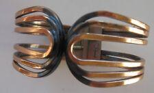 Renoir Copper Modernist Clamper,Hinge,Cuff Bracelet