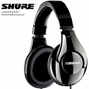 Shure SRH240 A Closed Back Stereo Studio Headphones