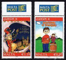 MALTA 2010 EUROPA LIBRI PER BAMBINI SG1666 - 1667 unmounted Nuovo di zecca