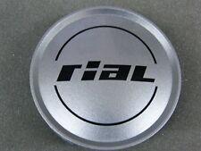 Original RIAL Nabenkappen N12 silber für Alufelgen Nabendeckel N 12 74/72 mm