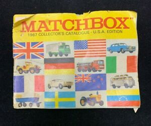 """1967 """"Matchbox"""" Collector's Catalogue U.S.A. Edition Booklet"""