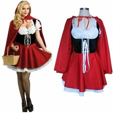 Little Red Riding Hood Costume Fancy Dress Hens Party Halloween Outfit L