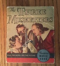 The Three Musketeers, Big Little Movie Book # 1131, 1935 RKO Picture, Very Good