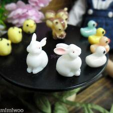 Blythe Momoko Hujoo 1/6 Bjd Resin Doll Miniature Animal Mini Bunny Rabbit (2pcs)
