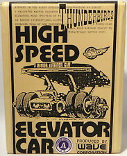 THUNDERBIRDS : HIGH SPEED ELEVATOR CAR MODEL KIT MADE BY WAVE - VERY RARE (MN)
