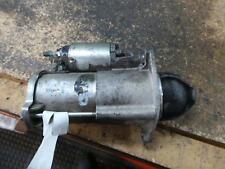 HOLDEN CRUZE STARTER MOTOR JG, 1.8, F18D4, 05/09-02/11 09 10 11