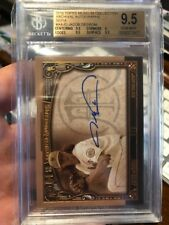 2016 Topps Museum JACOB deGROM Sepia Auto Mets Autograph #'d 3/5 Bgs 9.5 Hot!!!