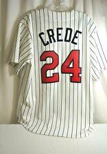 Minnesota Twins #24 Joe Crede Majestic Jersey Size Adult L