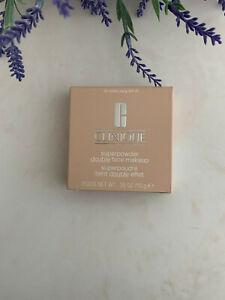 NIB Clinique Superpowder Double Face Makeup 0.35oz/10g 01 Matte Ivory