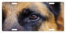 GERMAN SHEPHERD DOG Custom License Plate CANINE BREED Emblem EYE Version